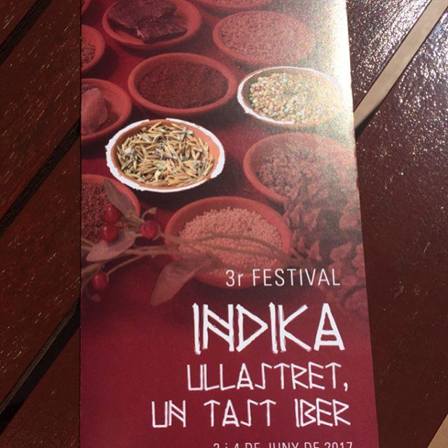 Indika festival Iber!!! Us hi esperem#emporda #costabrava #restaurantiberic #ullastret #ibers